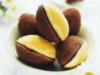 Madeleines mit Schokoladen-Füllung Rezept