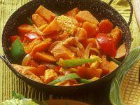Mais mit Süßkartoffeln Rezept