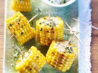 Maiskolben mit Kräuterbutter Rezept