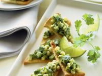 Maissalat auf Toast Rezept