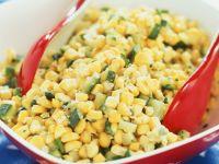 Maissalat mit Zucchini Rezept