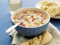 Maissuppe nach amerikanischer Art Rezept