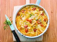 Makkaroni-Auflauf mit Tomaten und Käse Rezept