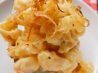 Makkaroni-Kartoffel-Gratin (Älplermagronen) Rezept