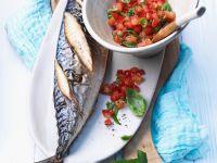 Makrele vom Grill mit Tomaten Rezept