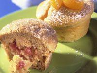 Mandarinen-Muffins mit Marmelade