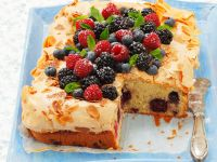 Mandel-Beerenkuchen