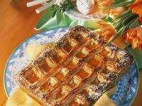 Mandel-Marzipankuchen mit Aprikosen Rezept