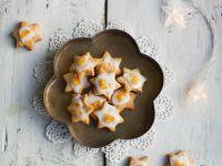 Mandel-Orangen-Sterne Rezept