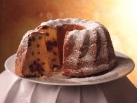 Mandel-Preiselbeer-Napfkuchen Rezept