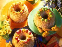 Mandelkrokant-Napfkuchen Rezept