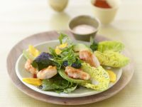 Mango-Curry-Salat mit Hühnchen Rezept