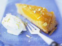 Mango-Karamell-Kuchen Rezept