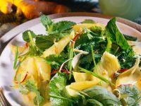 Mango-Kräutersalat Rezept