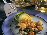 Mangold-Fischauflauf Rezept