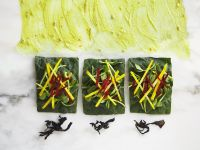 Mangold-Gemüsewraps Rezept