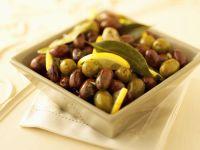 Marinierte Oliven Rezept