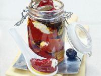Marinierte Peperoni mit Ziegenkäse-Füllung Rezept