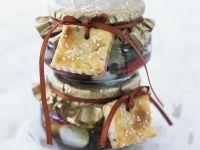 Marinierter Mozzarella mit Rosmarinkeks Rezept