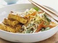Marinierter Tofu mit Chinakohlsalat Rezept