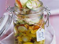 Mariniertes Gemüse in Öl Rezept