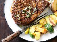 Mariniertes Steak