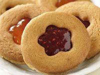 Marmeladenplätzchen nach französischer Art (Sables) Rezept