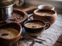 Maronen-Kürbis-Suppe mit Nüssen Rezept