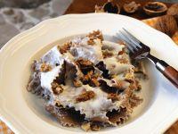 Maroni-Pasta mit Nusssauce