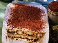Maroni-Tiramisu Rezept