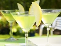 Martini-Cocktail mit Apfel Rezept