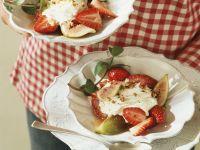 Mascarpone-Quarkcreme mit Erdbeeren Rezept