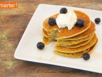 Matcha-Ricotta Pancakes Rezept