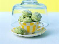Kochbuch für Matcha Macarons-Rezepte