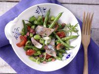 Matjessalat mit Bohnen Rezept