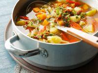 Mediterrane Gemüsesuppe Rezept