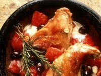 Mediterrane Hähnchenschenkel Rezept