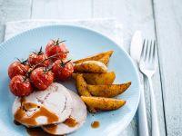 Mediterraner Putenbraten mit Kartoffeln Rezept