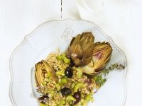 Mediterraner Weizensalat Rezept