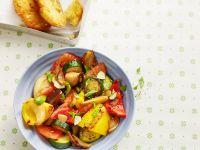Mediterranes Gemüse à la Ratatouille Rezept