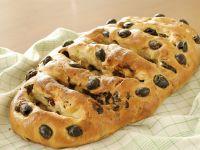 Mediterranes Olivenbrot Rezept