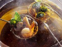 Meeresfrüchte-Fondue Rezept