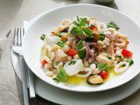 Meeresfrüchte mit Bohnen Rezept