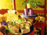 Melisse-Ananas-Mascarpone-Cremetorte Rezept