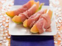 Melone mit Schinken Rezept