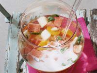 Melonen-Aprikosen-Bowle Rezept