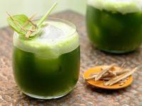 Melonen-Spinat-Saft Rezept