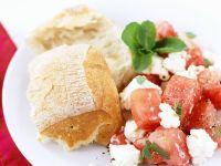 Melonensalat mit Feta Rezept