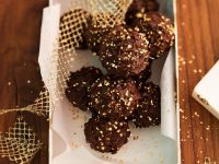 Milchreisbällchen in der Schokoladenhülle Rezept