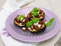 Mini-Auberginen-Pizza Rezept